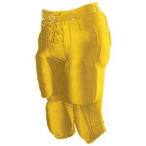 Alleson Youth Nylon/Spandex Football Pants LG   LIGHT GOLD