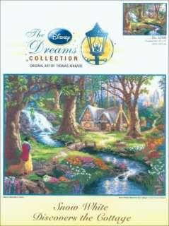 By Thomas Kinkade Snow White Discov 16X12 18 Count by M C G Textiles