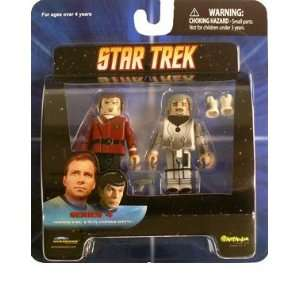 Minimates Star Trek Series 4 Admiral Kirk & Duty Uniform