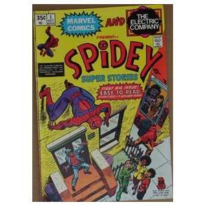 Spidey Super Stories (Spider Man) Comic Book #1