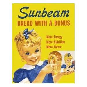 Tin Sign   Sunbeam   Little Miss Sunbeam: Home & Kitchen