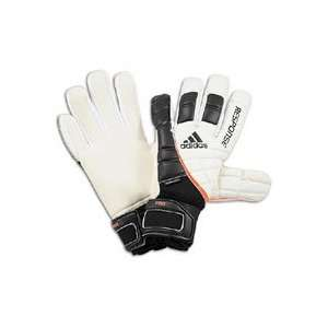 adidas Response Pro Goalkeeper Gloves   White/Black