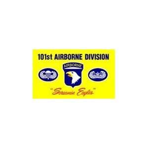 Lot 100 pc Case U.S. Army 101st Airborne Division Emblem Flags 3x5ft