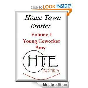 Young Coworker Amy (HTE Quickie EBook Series): Kelly Harris: