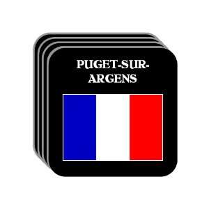 France   PUGET SUR ARGENS Set of 4 Mini Mousepad