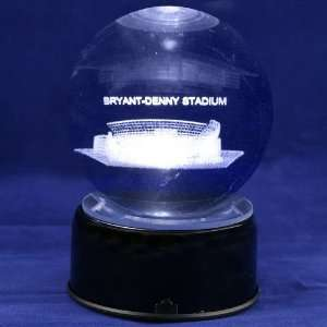 Alabama Crimson Tide Bryant Denny Stadium 3D Laser Globe