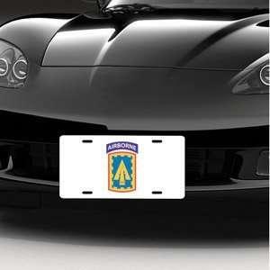 Army 108th ADA Brigade Airborne LICENSE PLATE Automotive