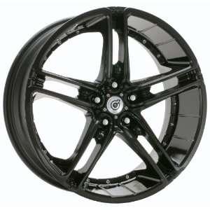 DS05BP24138A DS05 BLACK Wheel Rim 24 10x6 6x139.7: Automotive