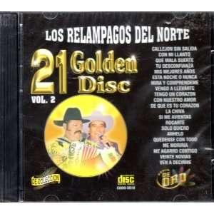 21 Golden Disc Vol 2 Los Relampagos Del Norte Los