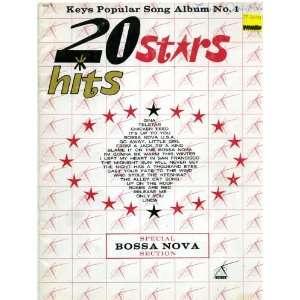 Bossa Nova Secion Piano/Vocals/Guiar (Keys Popular Song Album No. 1