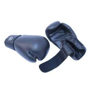 Black Pro Boxing Gloves Heavy Duty Gloves Sports