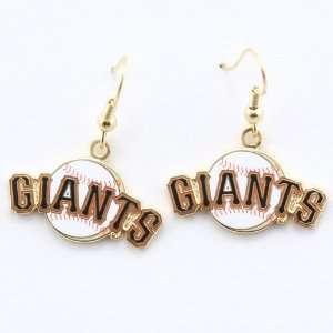 San Francisco Giants Logo Wire Earrings