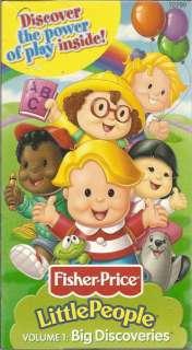 Little People Big Discoveries Volume 1 (VHS 2000) NIB 075380727991