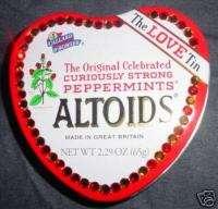 Crystal Embellished Altoids Pep Love Tin, Valentine