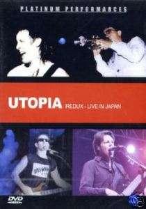 UTOPIA Redux Live in Japan DVD Todd Rundgren Tokyo RARE