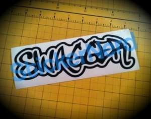 Swagger JDM Sticker Vinyl Decal Graphic Hella Broke illest swag ill