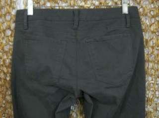 BANANA REPUBLIC Womens Gray Cotton Wide Leg Trouser Pants NEW $80 sz 4