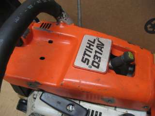 stihl 032 av chainsaw manual