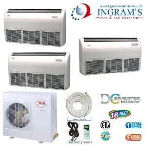 YMGI R410A Ductless Mini Split 16 SEER DC Inverte, Heat Pump 42K BTU