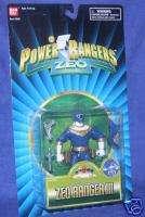 Power Rangers ZEO Blue Zeo Ranger III New RARE