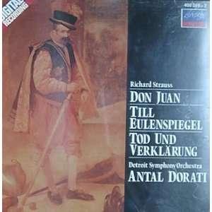 Richard Strauss, Antal Dorati, Detroit Symphony Orchestra Music