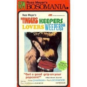 Finders Keepers Lovers Weepers: Anne Chapman, Paul