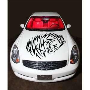 Mustang Off road Racing 4x4 Symbol Horse Animal Hood Vinyl