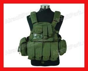 1000D US Navy Seals Tactical Molle Vest   Olive Drab