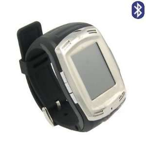 Quad band watch mobile phone with Dual channel Bluetooth