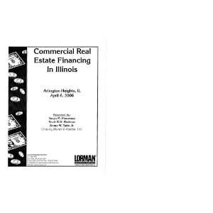 Commercial Real Estate Loans on Commercial Real Estate Financing  John T  Duax  Laurene R