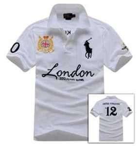 Lauren Mens Big Pony Polo Shirt London Olympic 2012 No.12 Custom Fit