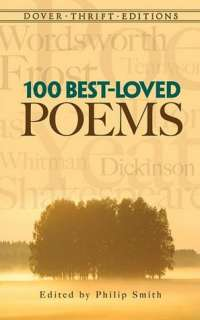 100 Best Loved Poems by Philip Smith, Dover