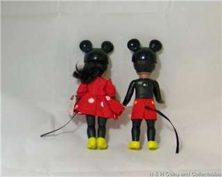 MEAL MADAME ALEXANDER WENDY DOLL AS MINNIE MOUSE and MICKEY BOY #1525