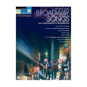 Broadway Songs For Male Singers Book and CD Musical Instruments
