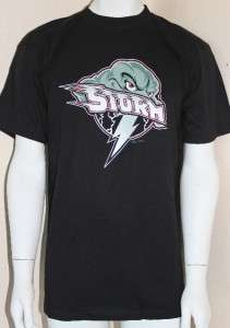 Minor League Storm Omaha Baseball Team T Shirt L Youth