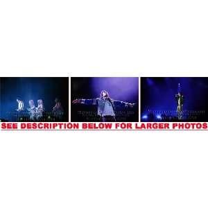 MICHAEL JACKSON HISTORY TOUR STAGE 10 (3) RARE 8x10 FINE