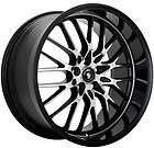 17x7 Konig Lace Black Wheel/Rim(s) 5x114.3 5 114.3 5x4.5 17 7