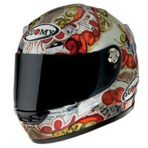 Suomy Vandal Actuality Medium Full Face Helmet Automotive