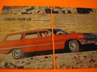 1963 Chevy Impala Station Wagon poster car ad