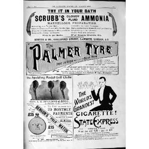 Ammonia Cigarettes Benson Palmer Tyre Mappin Webb