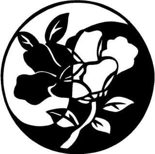 Yin Yang Symbol Window Vinyl Decal Sticker Car Window
