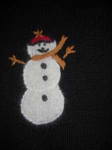 NUTCRACKER Beautiful Snowman Christmas Sweater Vest 1X