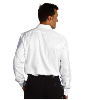 Mens Classic White Dress Shirt
