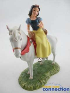 Disney WDCC SNOW WHITE & PRINCE Horse & Away to His Castle Well Go 2