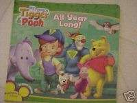 NEW DISNEY WINNIE THE POOH & FRIENDS ALL YEAR LONG SEASONS BOOK