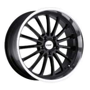 18 Inch 18x8 TSW wheels ZOLDER Gloss Black wheels rims Automotive