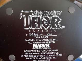 The Mighty THOR Marvel Statue by Randy BOWEN Designs Figure 15.5 Tall