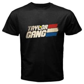 Wiz Khalifa Taylor Gang Mens Black T Shirt Size S 5XL