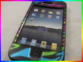 Colorful Hard Skin Cover Case For Apple iphone 4 4G #43