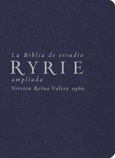 La Biblia de Estudio Ryrie Ampliada Rvr 1960 NEW 9780825418174